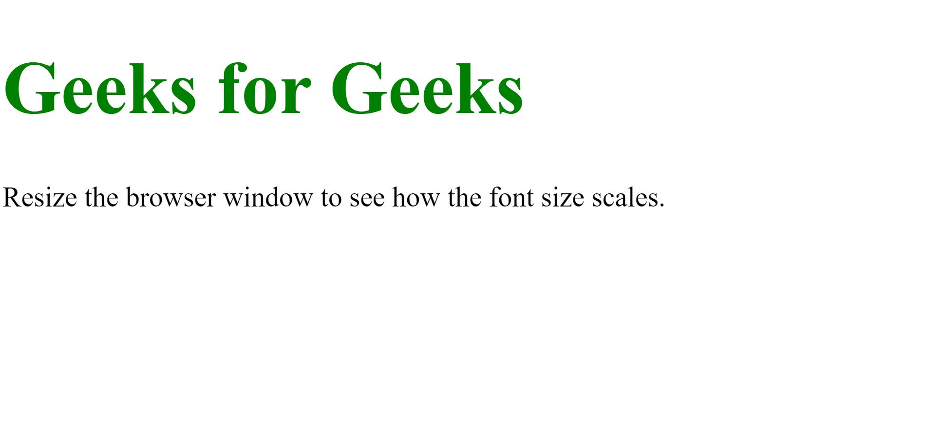 Font size on Desktop