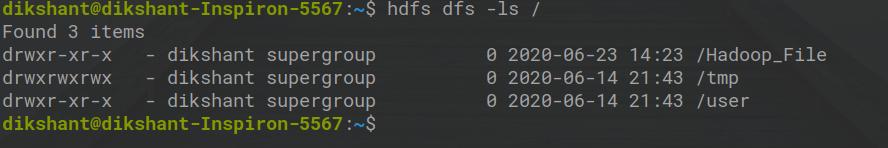 HDFS Permission File