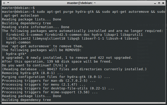 Installing Hydra From Source Repository in Linux - 2