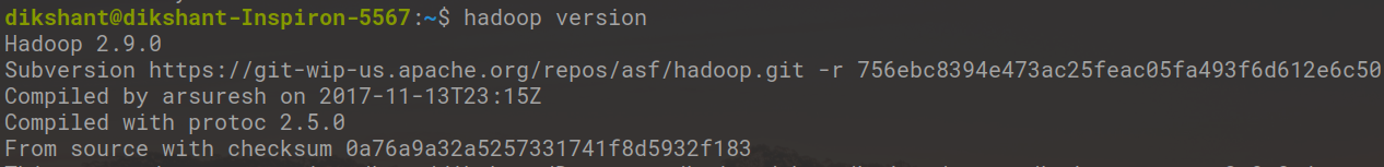 check-hadoop-version