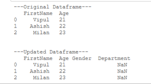 add empty column to dataframe