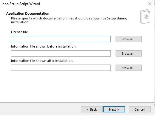Application documentations
