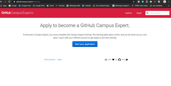 GitHub Campus Expert