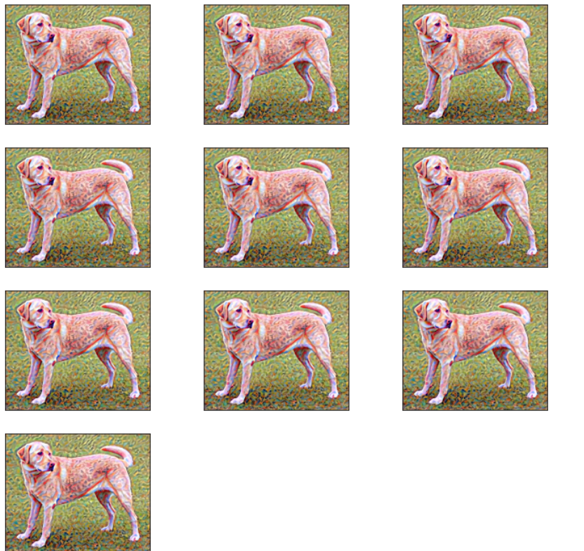 Last 10 Generated images