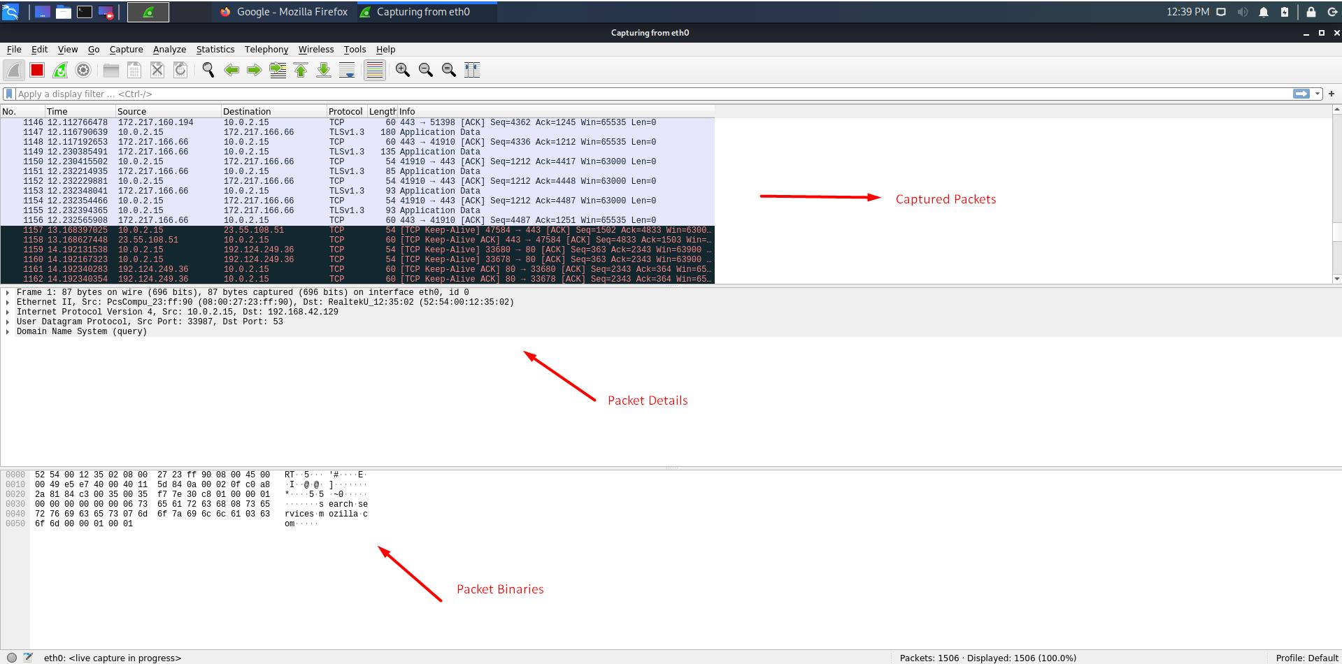 Wireshark Packet Tracer