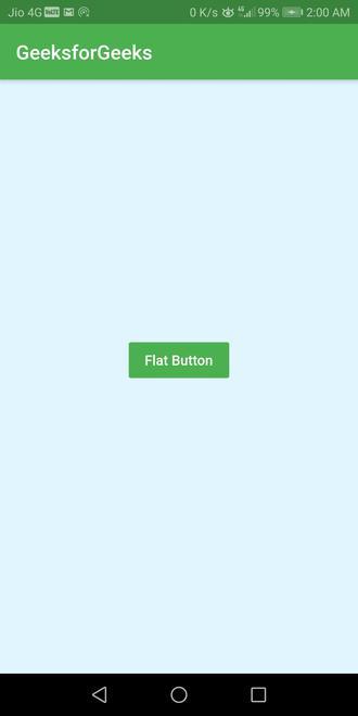 empty flatbutton widget