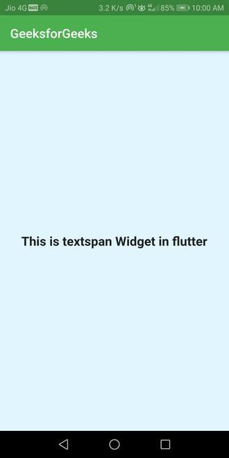 full textspan in flutter