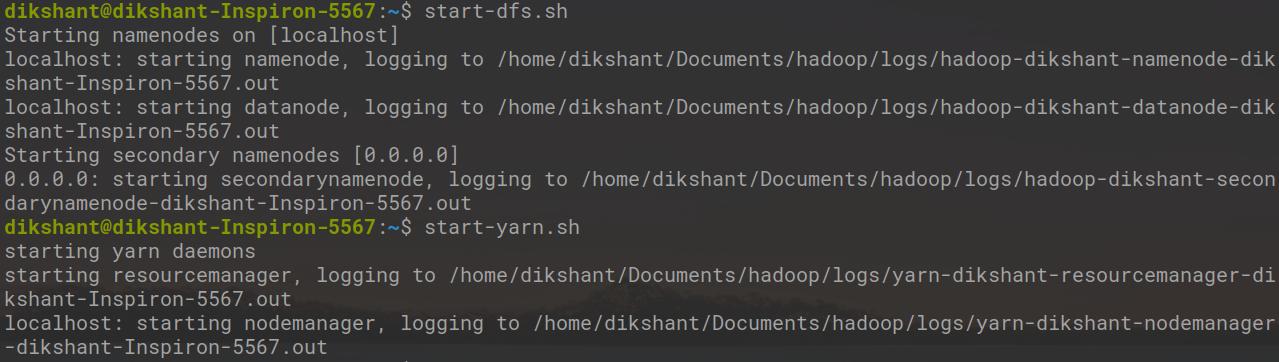 Start all your Hadoop Daemons