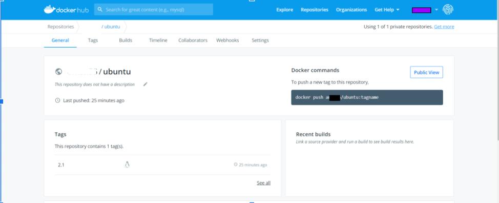 docker hub repositry