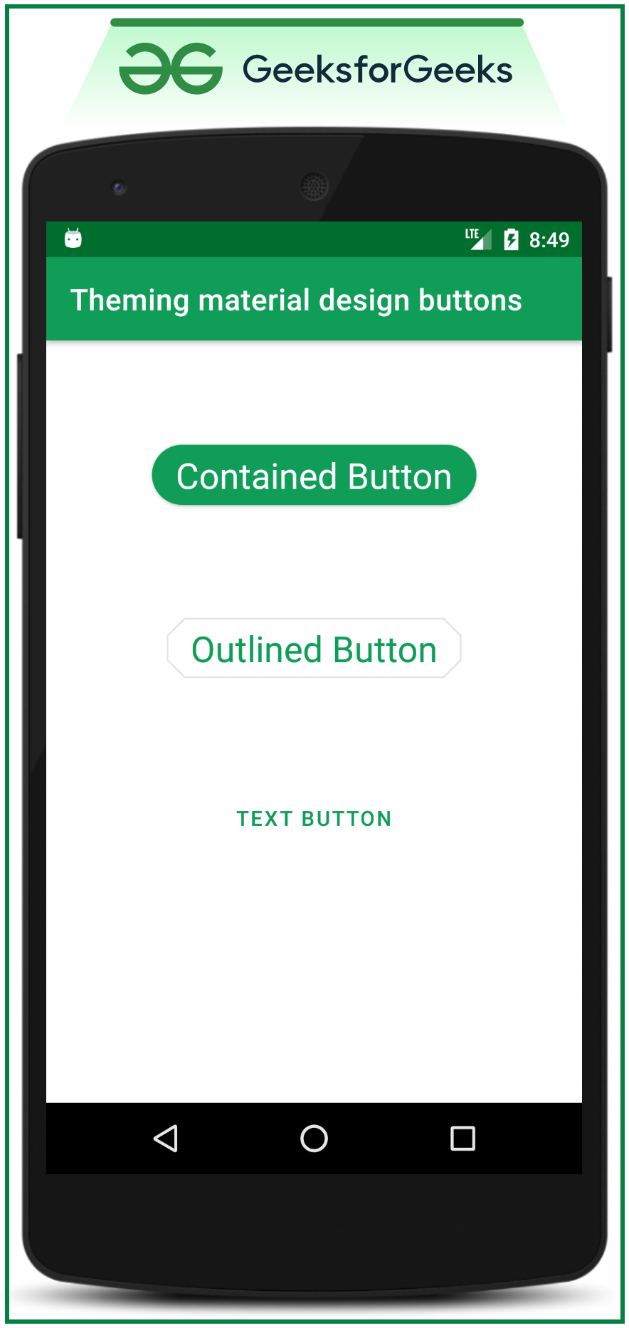 Theming material Design Button