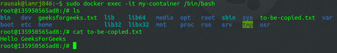 Verifying the Output