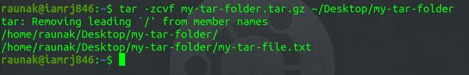 tar file