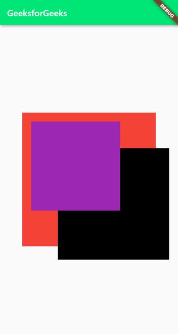 stack widget