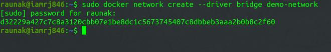 Docker Network Create sub-command