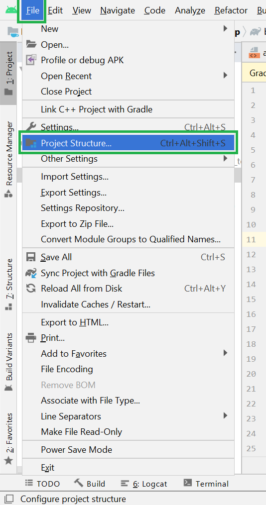 How to Change the API SDK Level in Android Studio