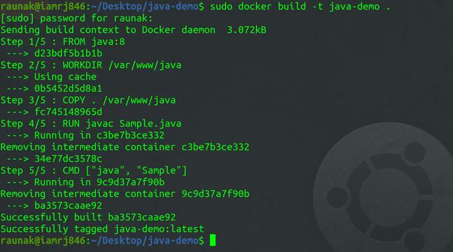 Build the Docker Image