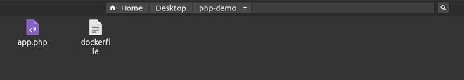 Creating the Dockerfile