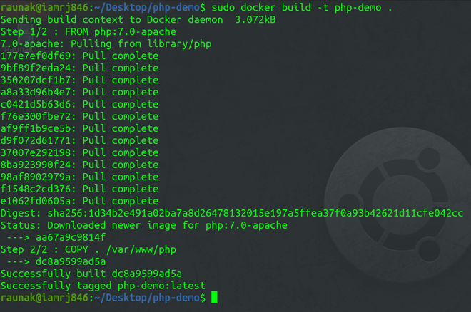 Creating the Docker Image
