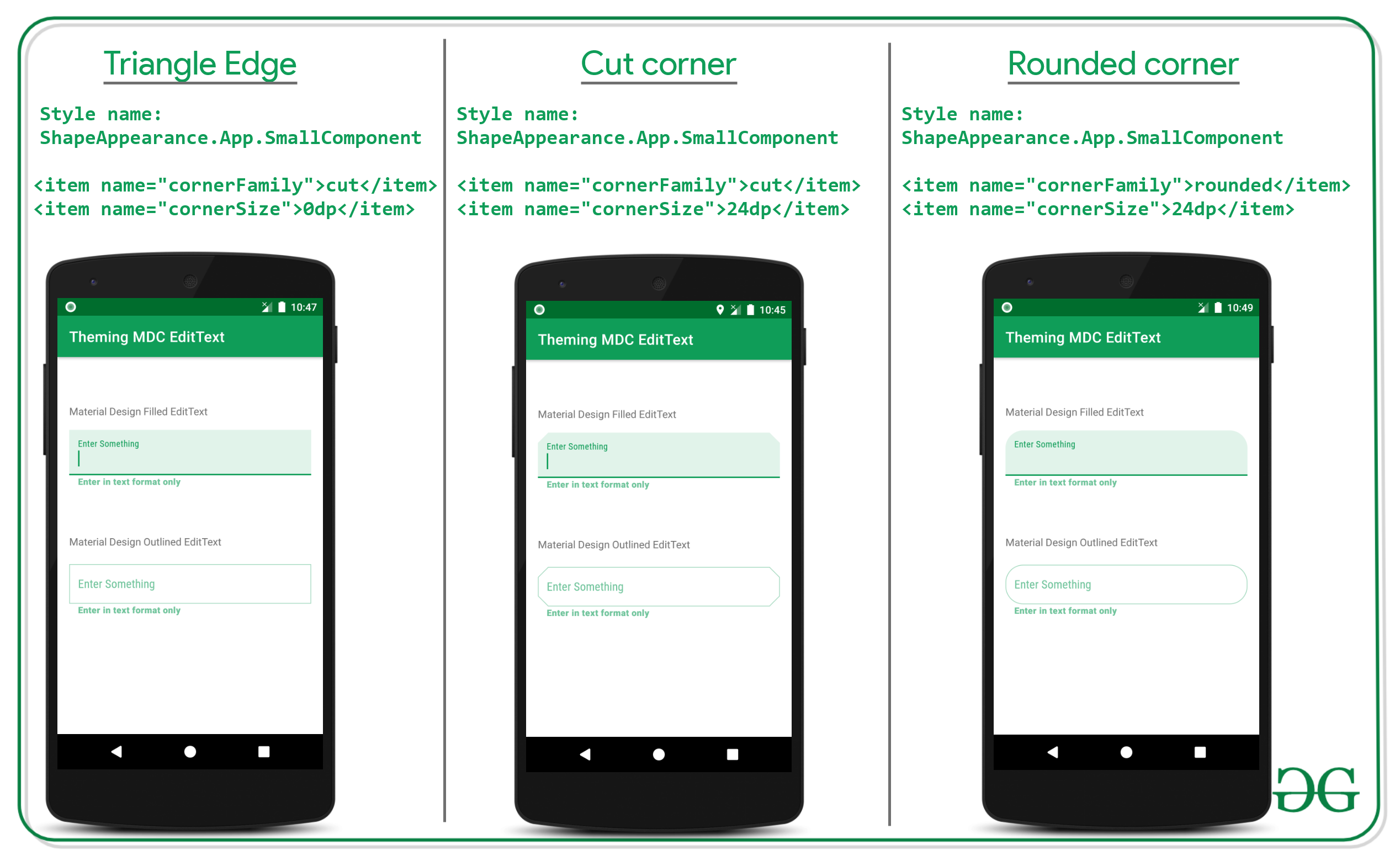 Theming of Material Design EditText