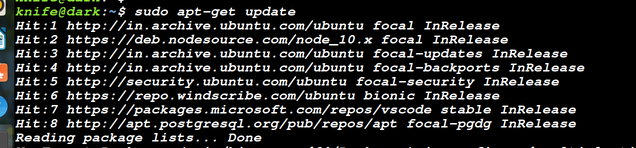 update linux packages