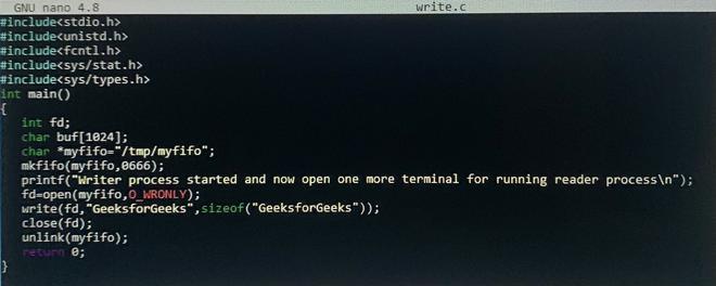 write.c file of openAPI