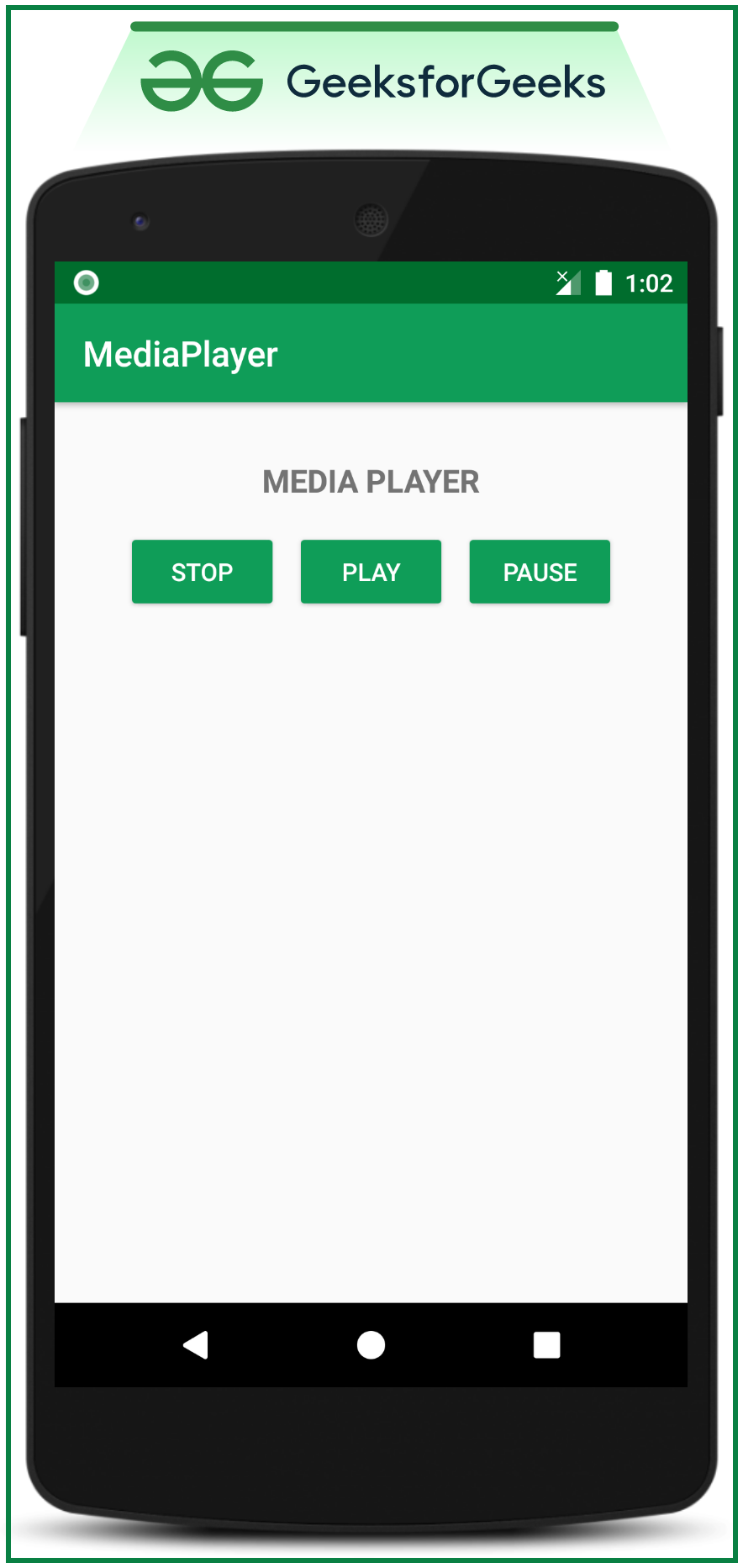 Mediaplayer Class in Android