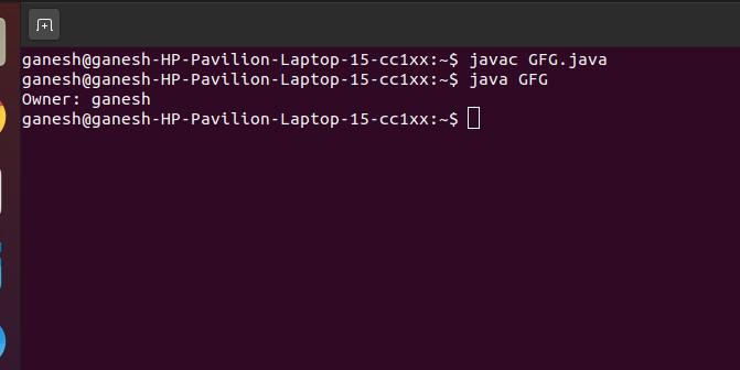 get file owner in linux os