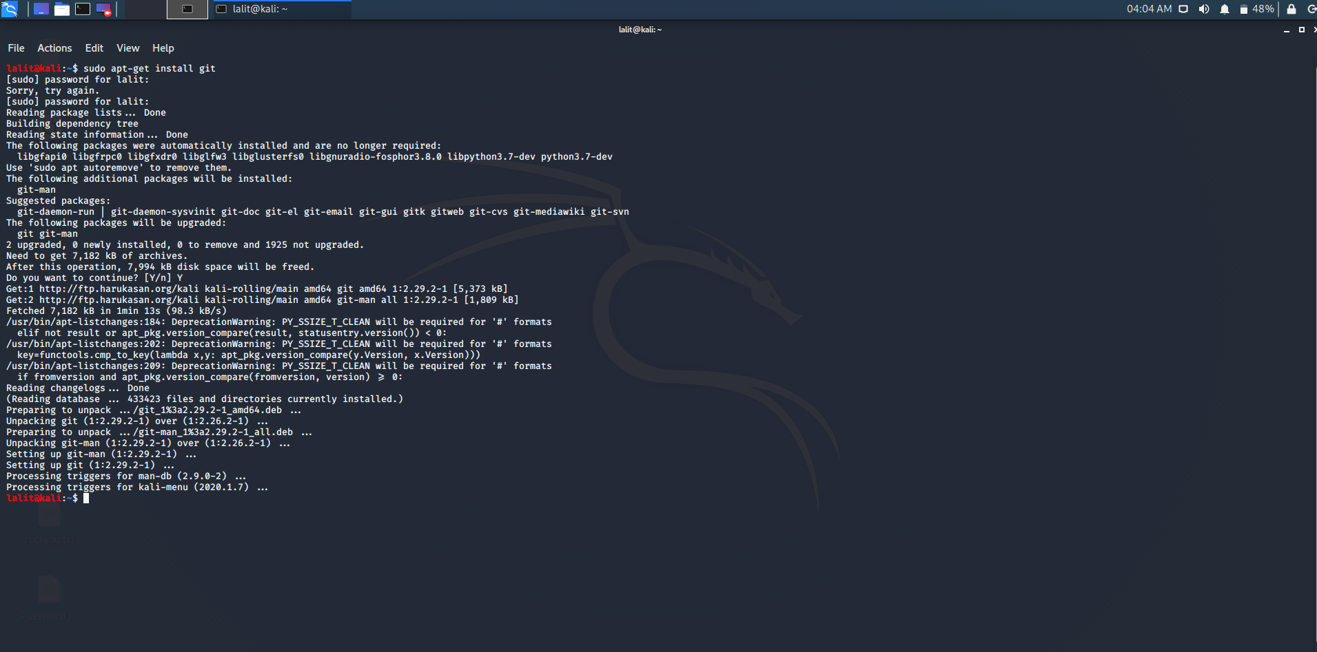 Installation of Wpscan Tool in Kali Linux