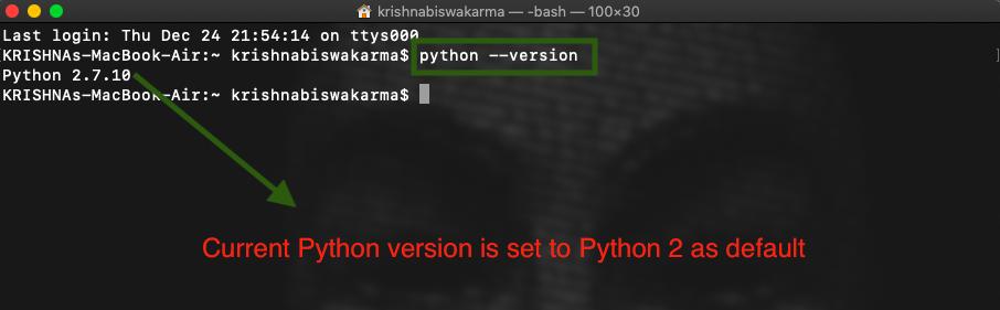 Check Python Version