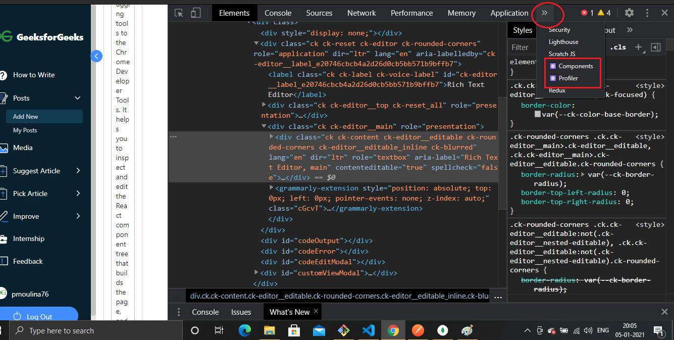 Chrome DevTool