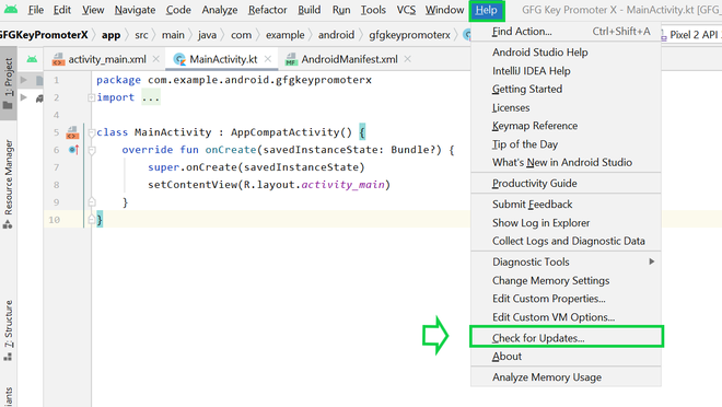 Integrating Key Promoter X Plugin with Android Studio