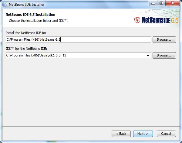 Steps of Installation of NetBeans on Windows