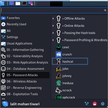 Running Hashcat with GUI