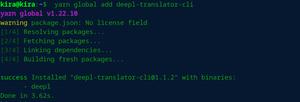 Deepl - Command Line Language Translator Tool for Linux