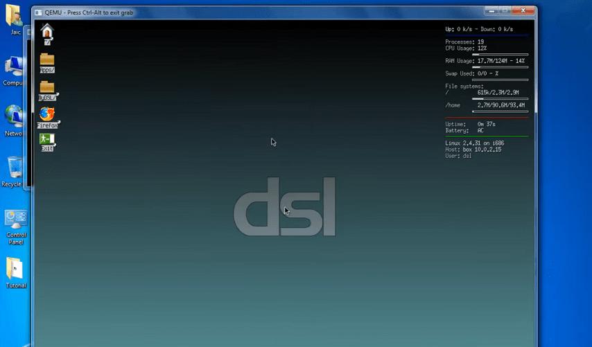 DSL window