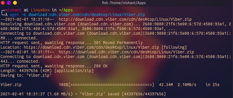 Install Viber app on 64bit Linux system
