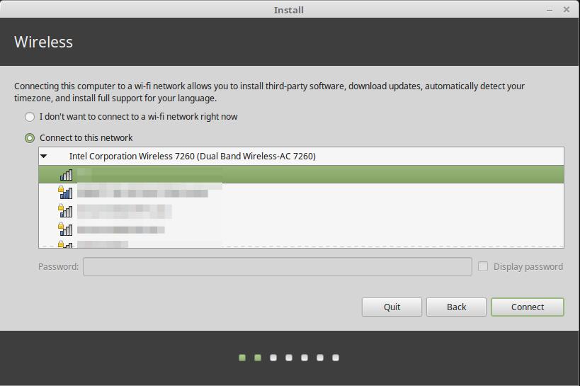 Linux Mint installation