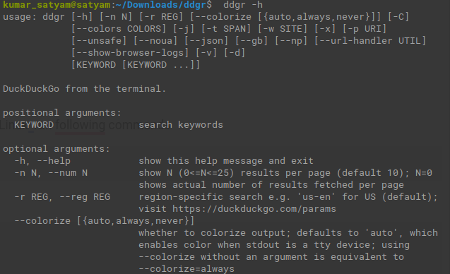 How to Search DuckDuckGo from the Linux Terminal