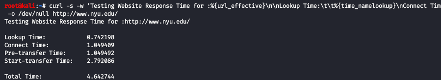 How to Test Website Loading Speed in Linux Terminal