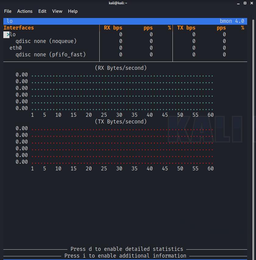 bmon interface
