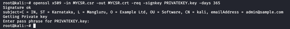 How to Generate a CSR (Certificate Signing Request) in Linux