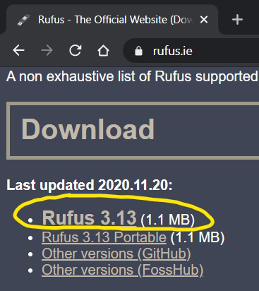 How to Burn Linux ISO Files using rusuf