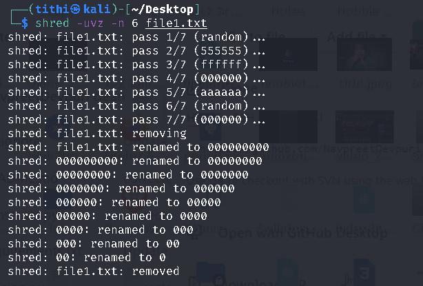 Tools to Securely Delete Files from Linux