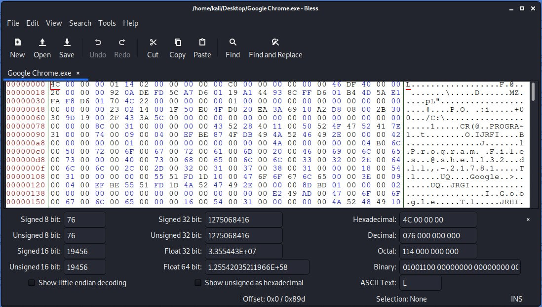 Bless Hex Editor
