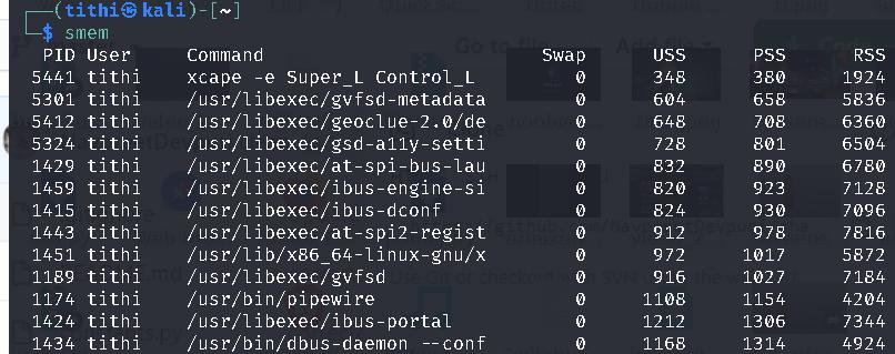 Linux Smem Tool Displays Memory Usage More Accurate