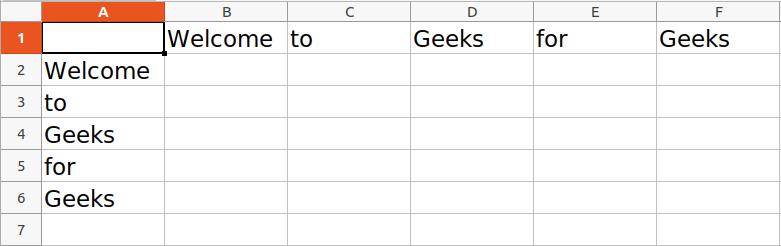 writing to row or column xlsxwriter python