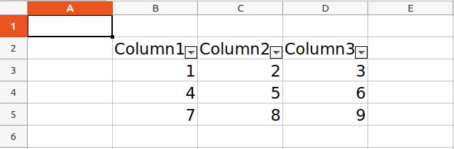 xlsxwriter table python