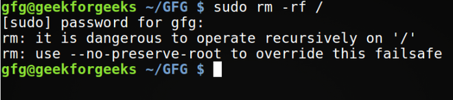 """What Actually """"rm -rf"""" Command Do in Linux?"""