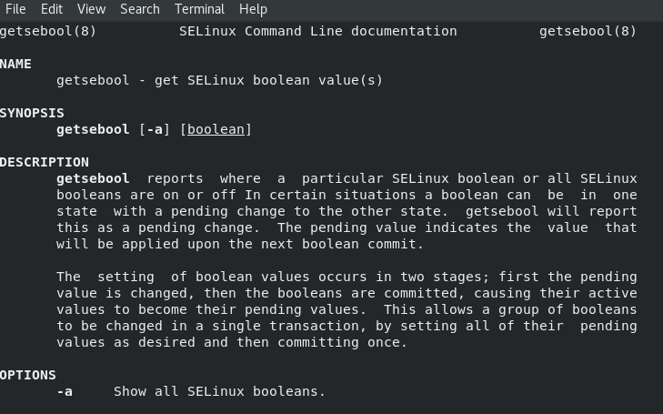 How to Enable or Disable SELinux Boolean Values