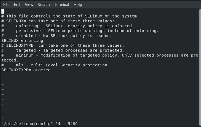 How to Enable or Disable SELinux  in different modes